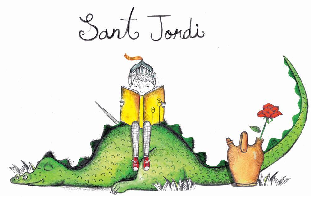 Hoy leemos: Libros sobre Sant Jordi