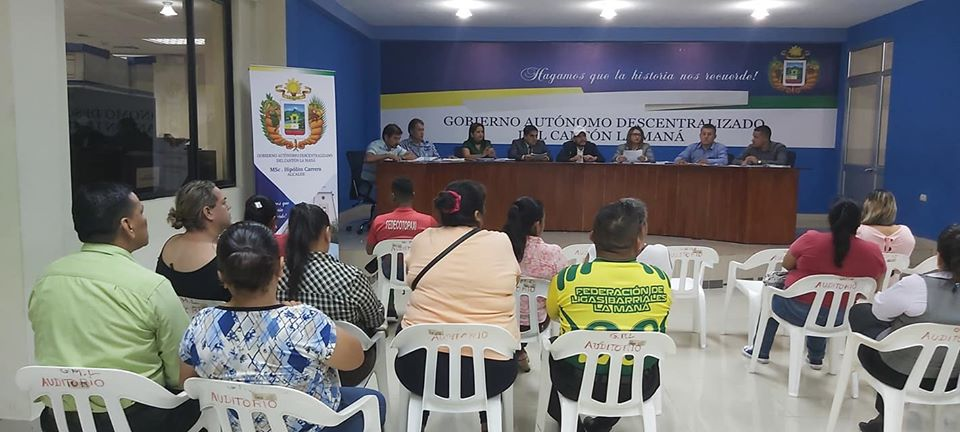 Sesión ordinaria del Concejo Municipal