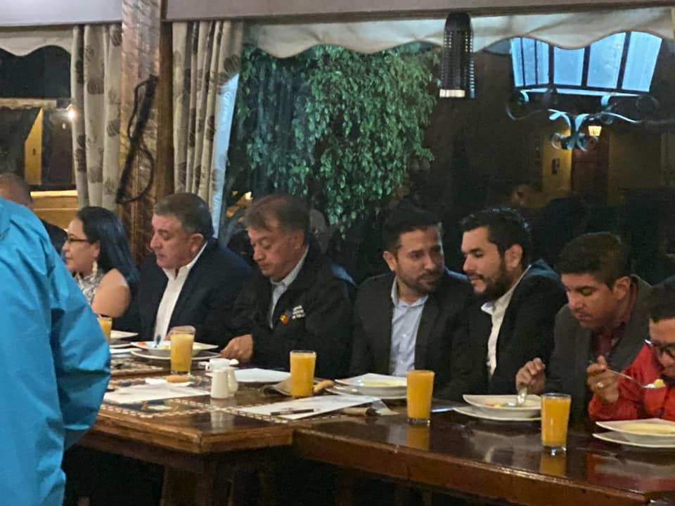 Cena con el Ministro de Transporte y Obras Publicas