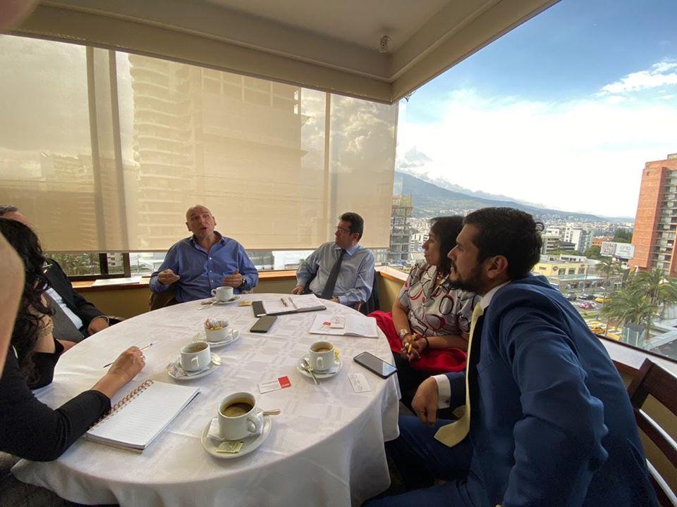 Reunion con inversionistas Españoles