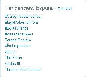 En la red social Twitter fue Trending topic el llamamiento a salvar a Excalibur