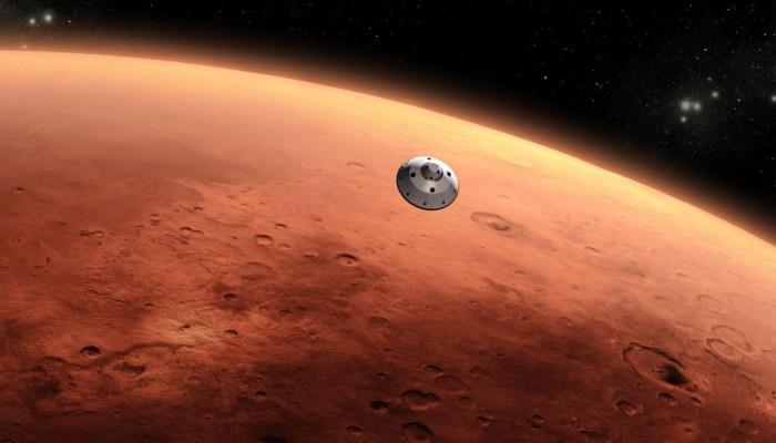 La NASA encuentra restos de lo que podria ser una boina de Tomelloso en Marte