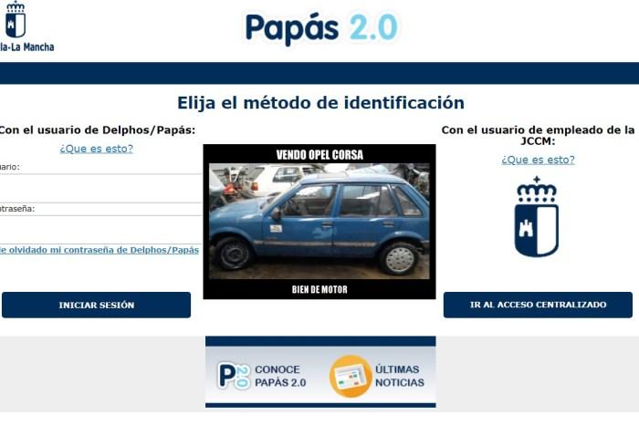 Una madre de Ossa de Montiel utiliza el programa PAPAS para vender un Opel corsa