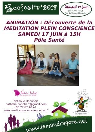 Animation - Méditation 15h- Ecofestiv 2017