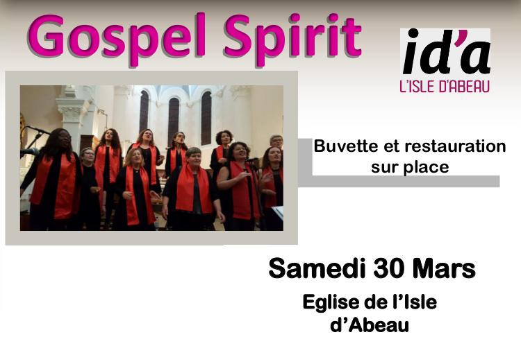 Festival Gospel - Le 30/03/2019 à l'Isle d'Abeau