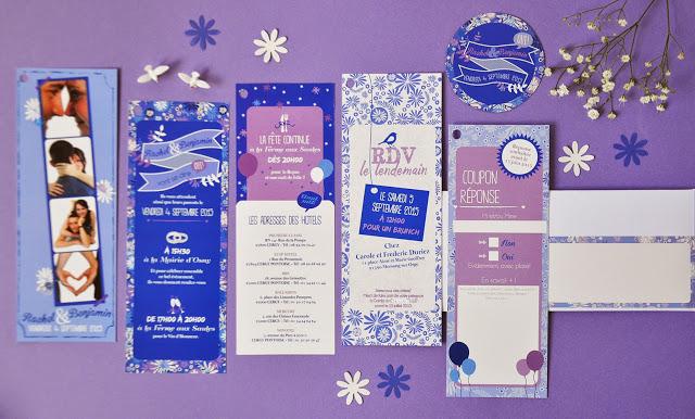 10-faire-part-mariage-photomaton-rachelbenjamin-bleu-violet-hivers-fleuri-original-sur-mesure-2