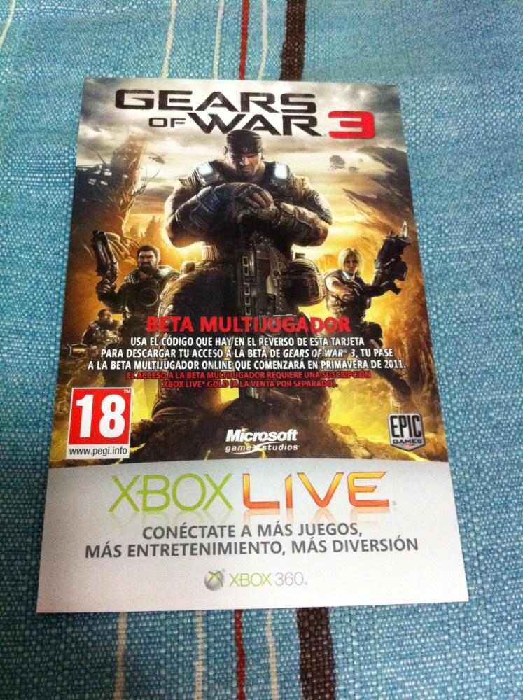 [CERRADO] Sorteo Beta Gears of War 3