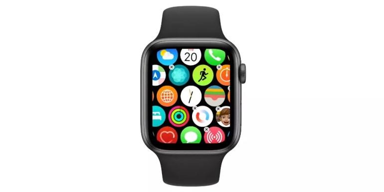 Ordenar apps Apple Watch