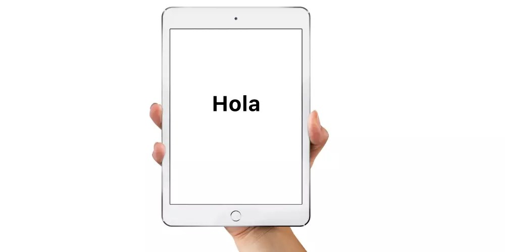 iPad configuracion inicial