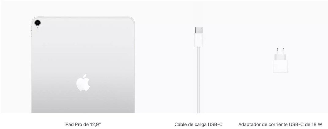 contenido caja iPad Pro