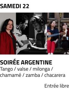 Visu site - soiree argentine juillet prix