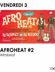 Visus site - afroheat novembre 2017