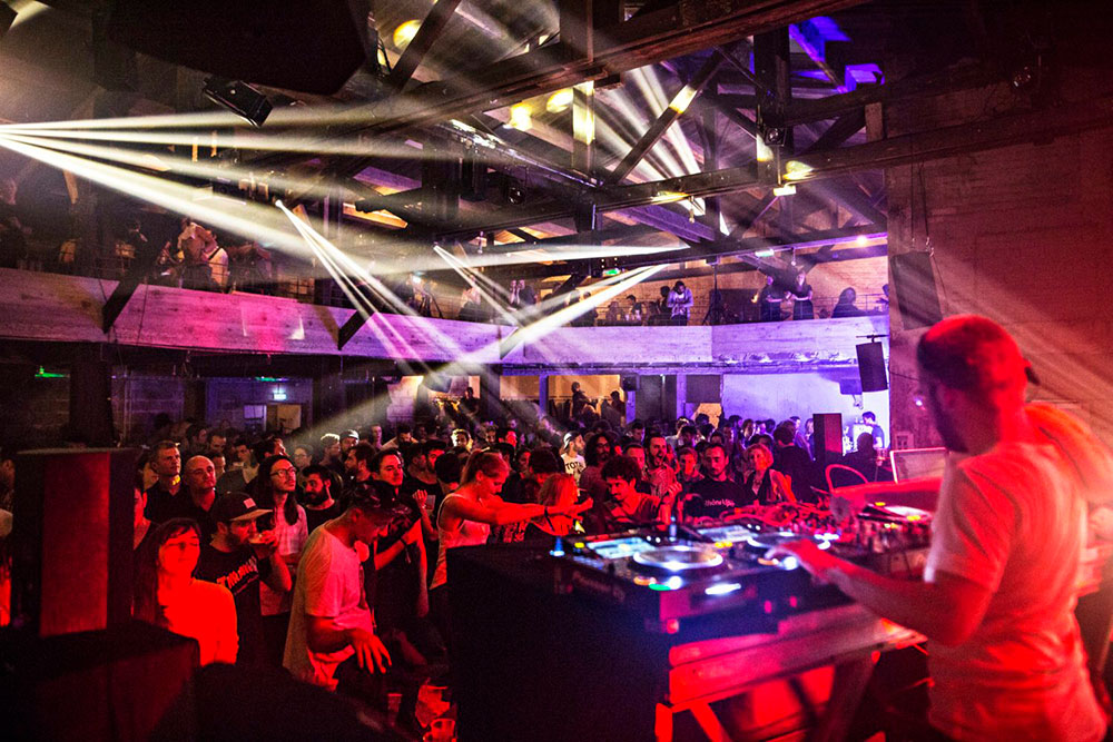 DJ Set à la Marbrerie