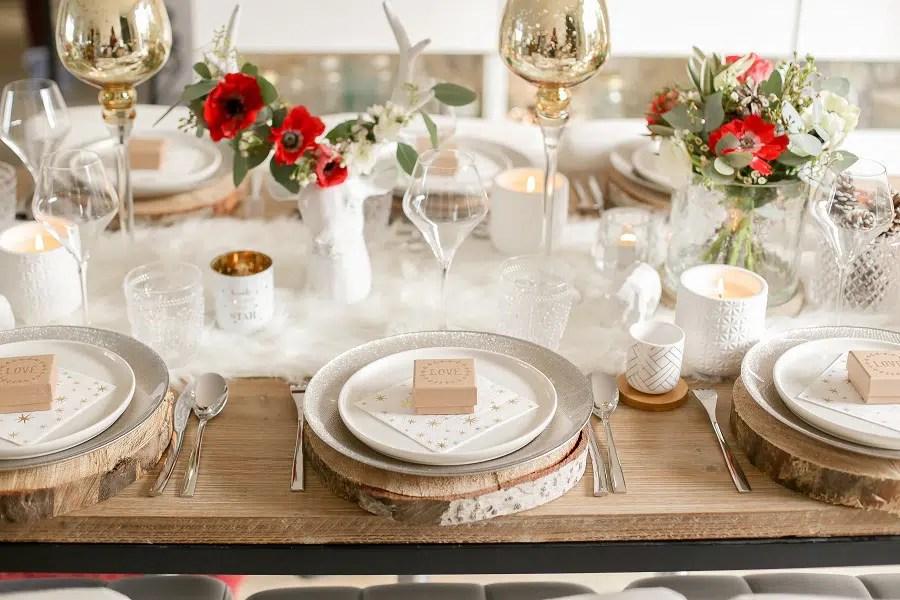 elegant ma table de nol chez maisons du monde with table de noel