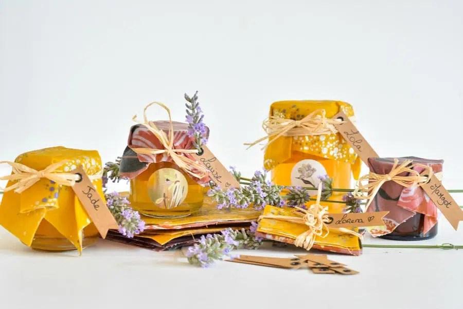 DIY Bee Wraps invités mariage