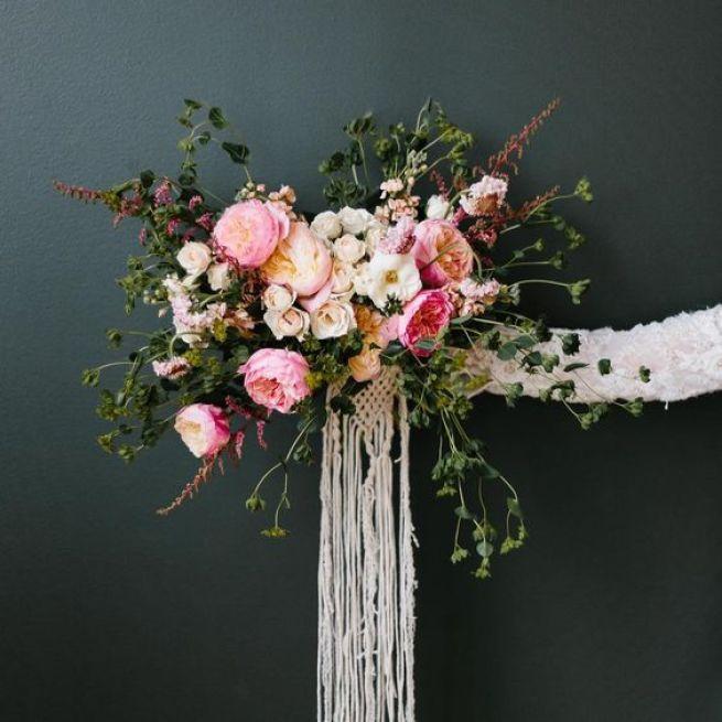 Bouquet Macramé