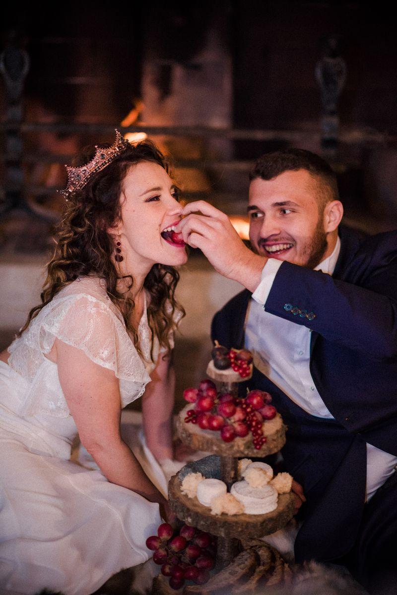 mariage reine chic