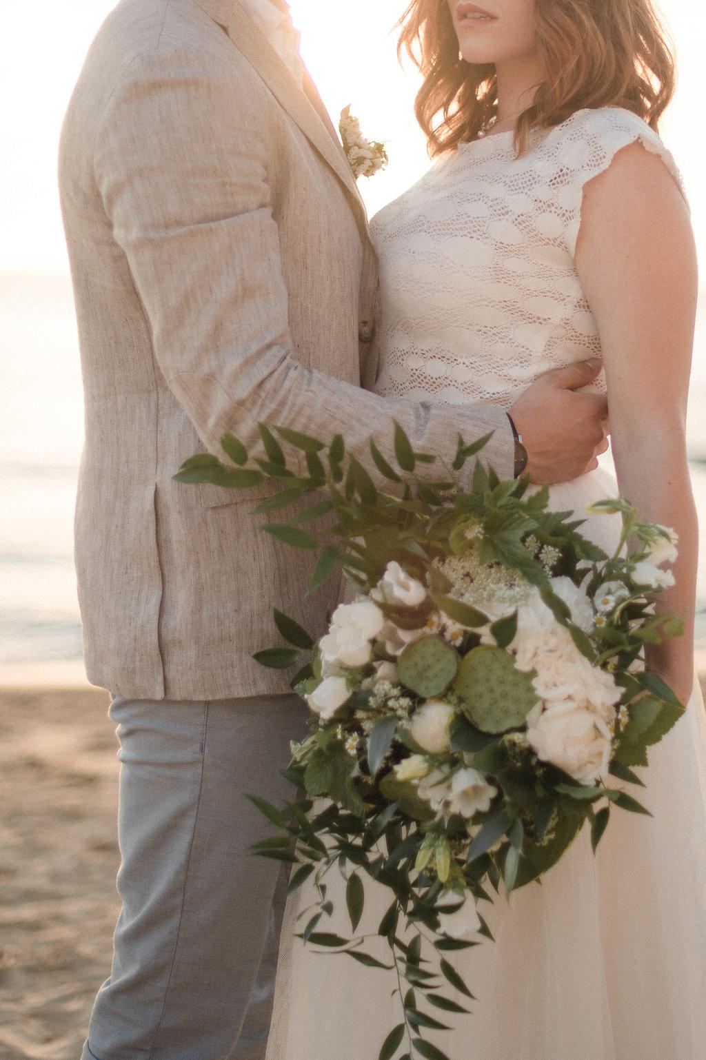 Mariage plage Dune du Pilat bohème