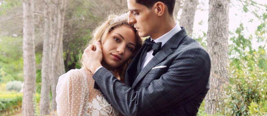 Shooting d'inspiration – Un mariage de Noël chic et magique au Domaine de Verchant