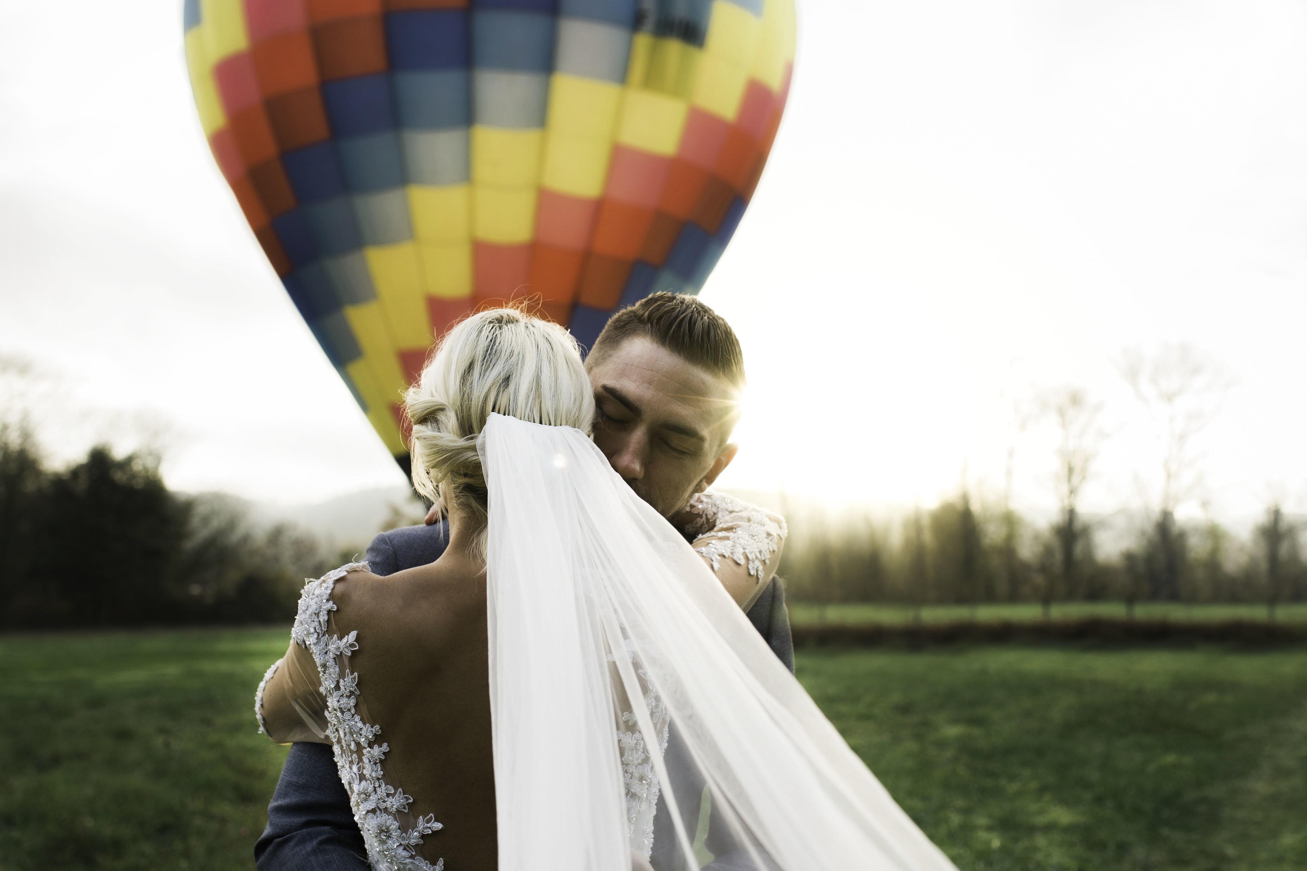 Eva Martinez - Photographe Mariage en montgolfière