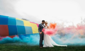 Mariage en Montgolfière