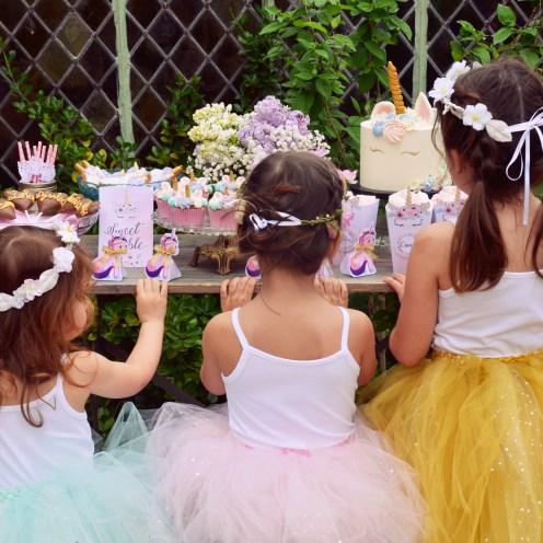 Kids Fashion Licornes Party Fon de Rey-107