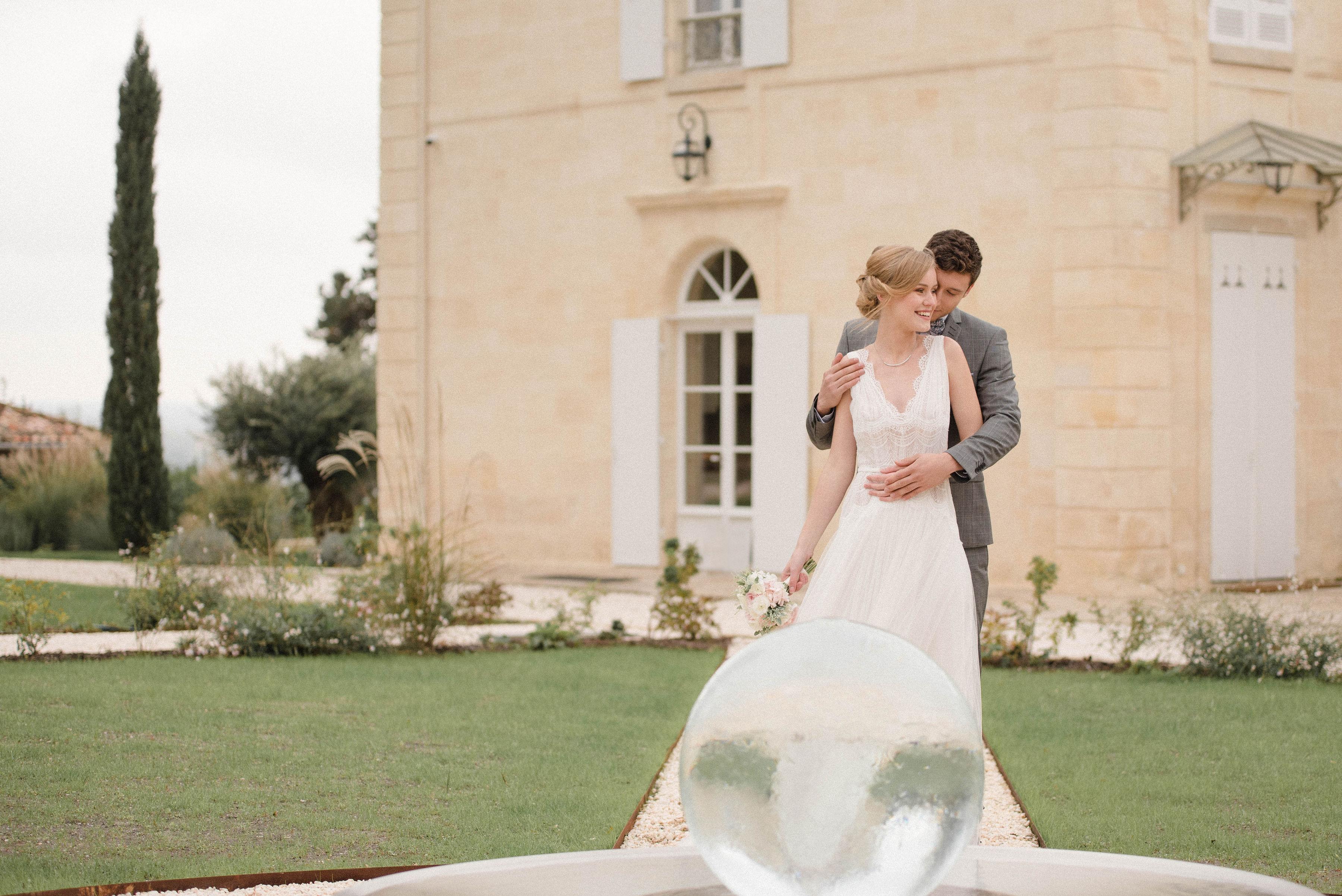 Mariage château Gassies - Véronique Chesnel