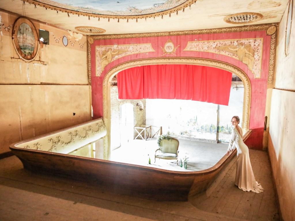 Mariage dans un théâtre