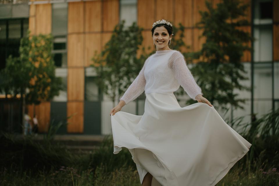 paquerette pull ouvert pour mariee manches chaudes pull de mariage automne hiver creation lyon veste tricotee.JPG (1)