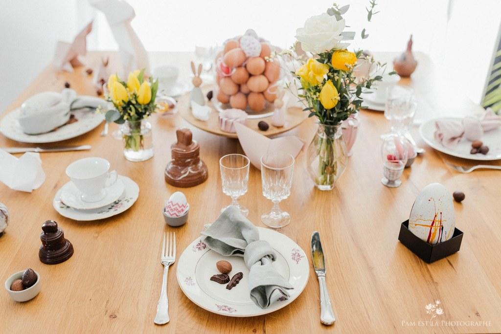Shooting d'inspiration - La table de Pâques
