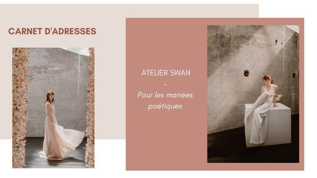 Atelier Swan - Robes de mariée paris et toulouse