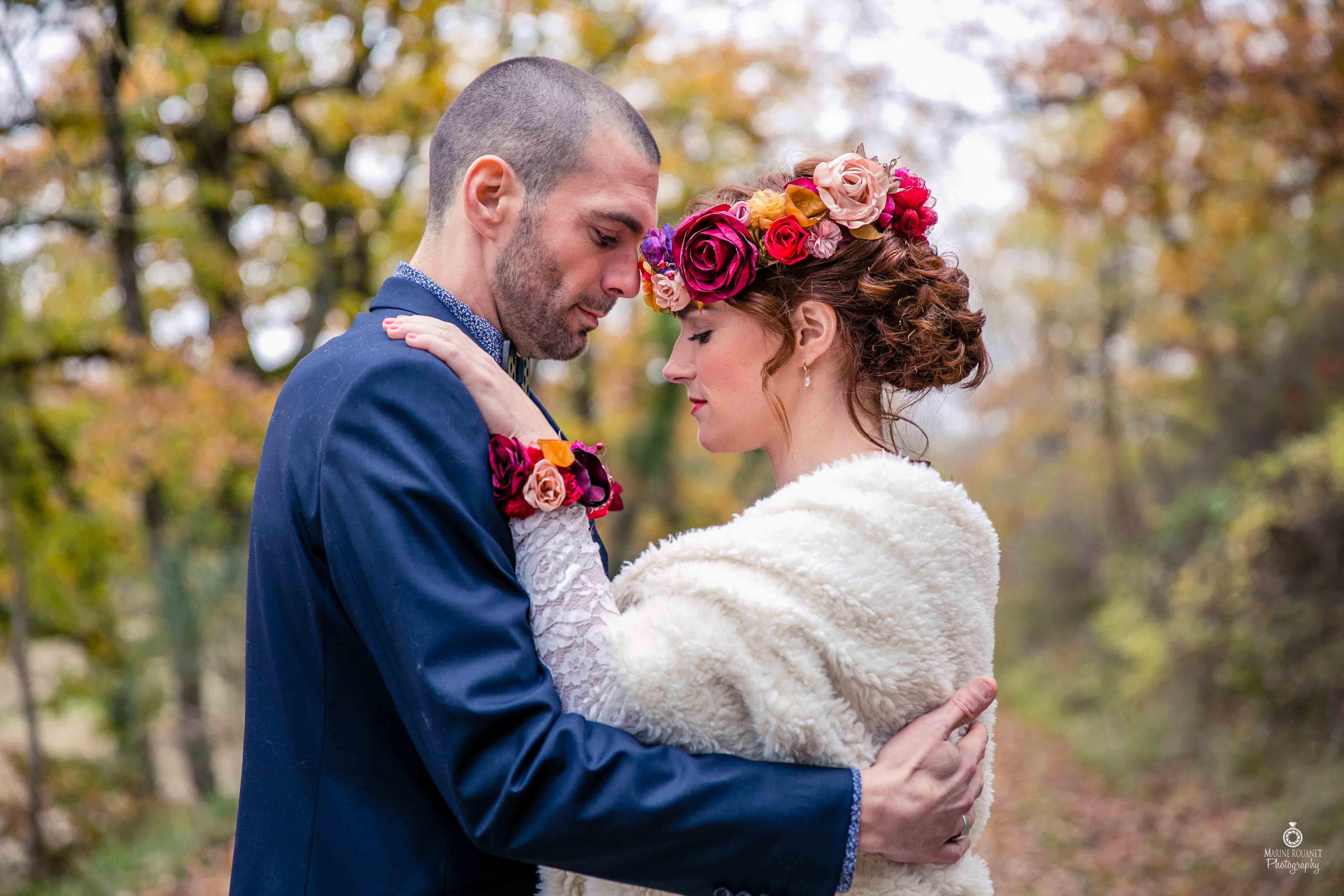 Shooting - Se marier en automne