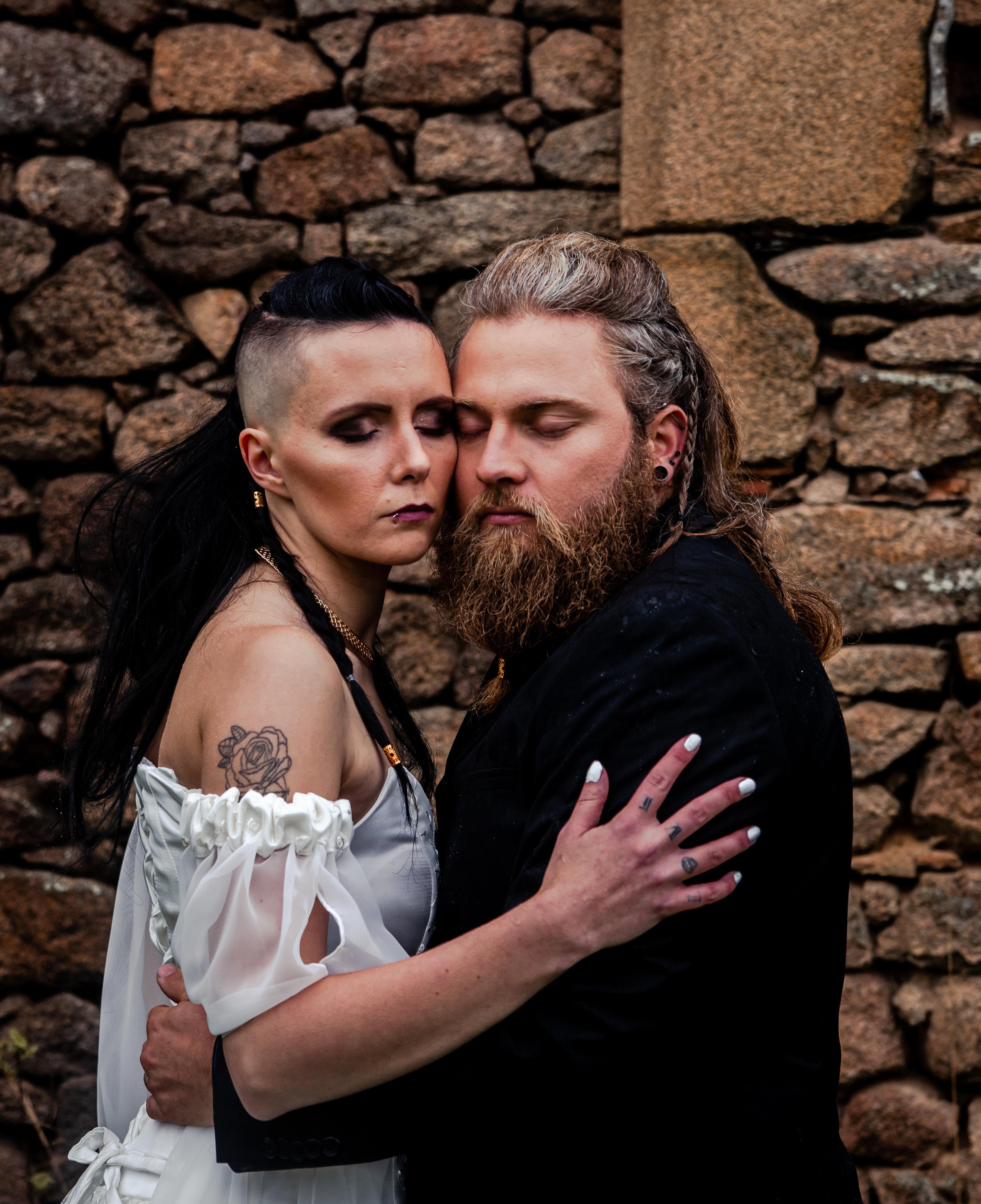 Mariage Viking - Mademoiselle Clic