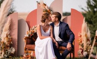 Mariage Terracotta Dans le Lauragais