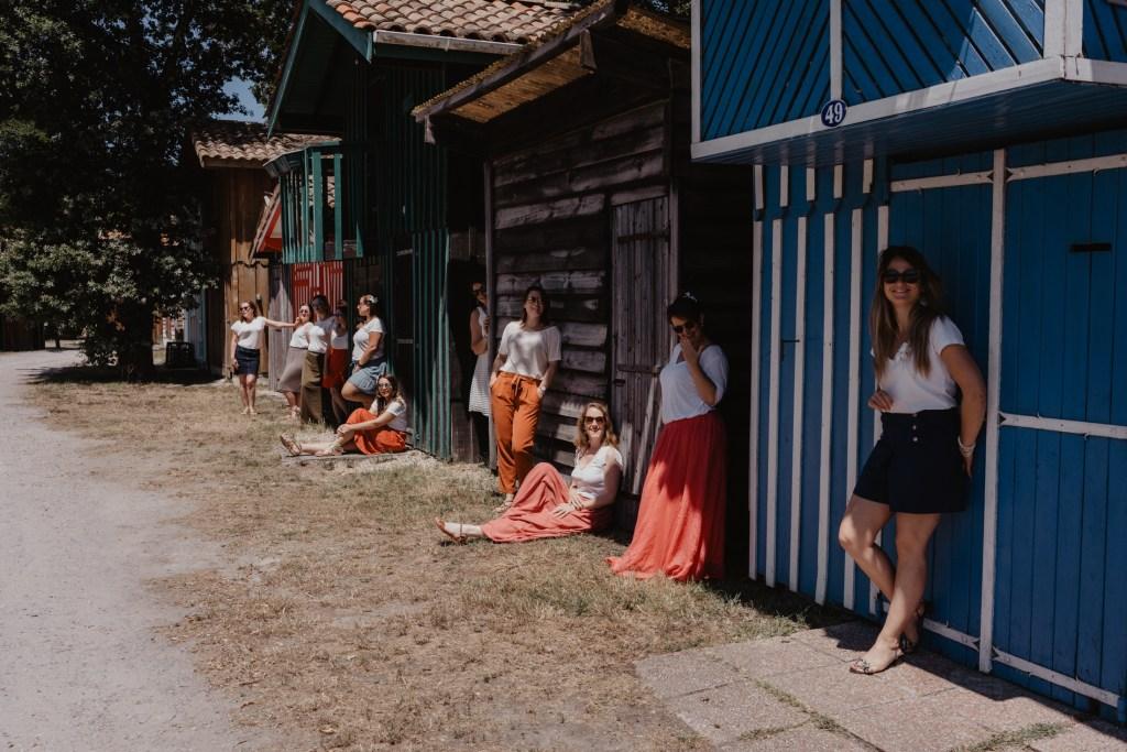EVJF au port de Biganos