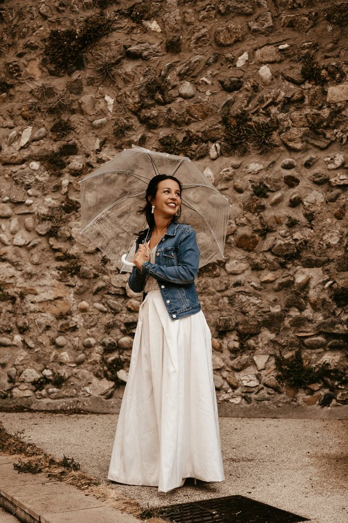 mariée en jean