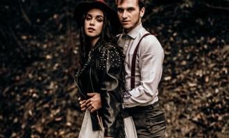 Un mariage de rêve en automne