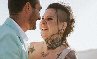 Badass mariage alternatif tatouage intimiste