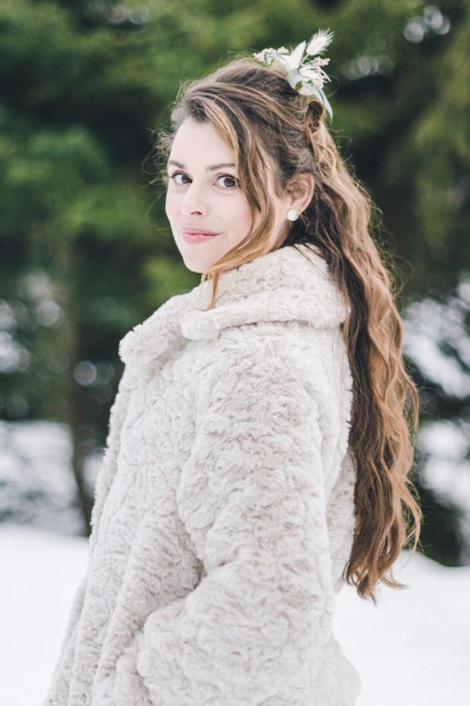 Demande en mariage atypique sous la neige