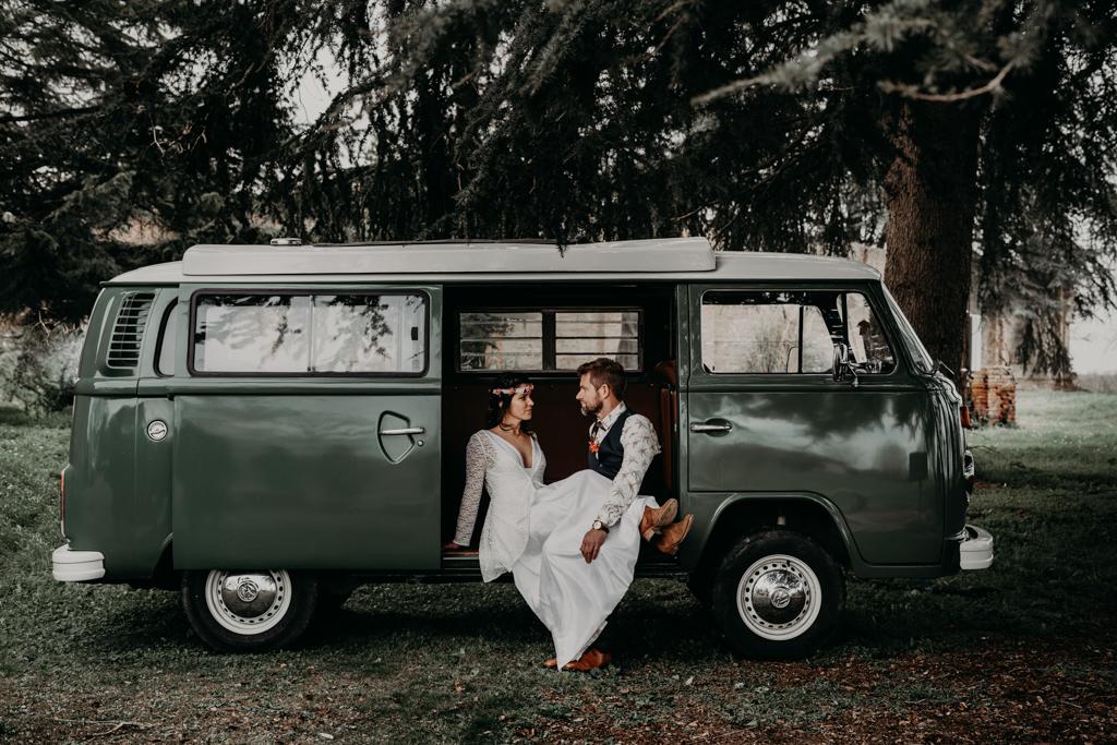 combi mariage Woodstock