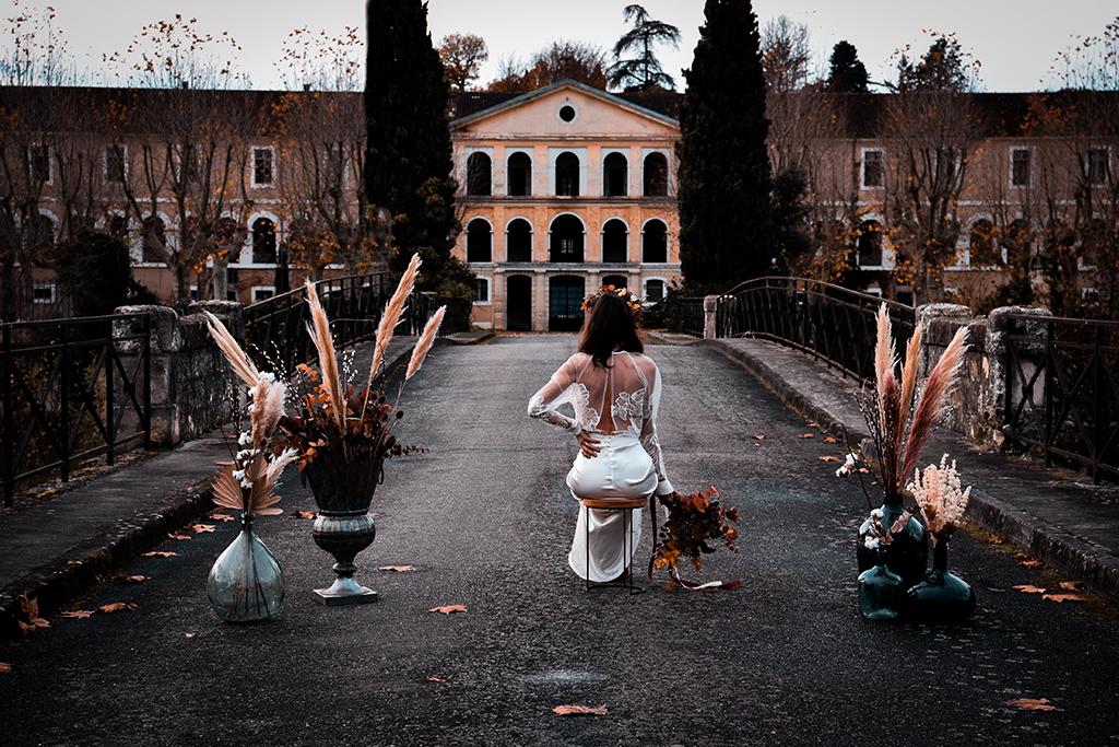 La mariée de la caserne robe de mariée