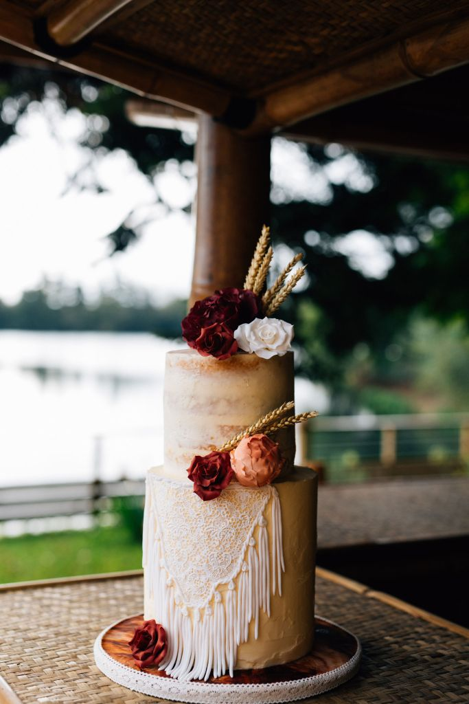 Wedding Cake Mariage gipsy Folk bohème