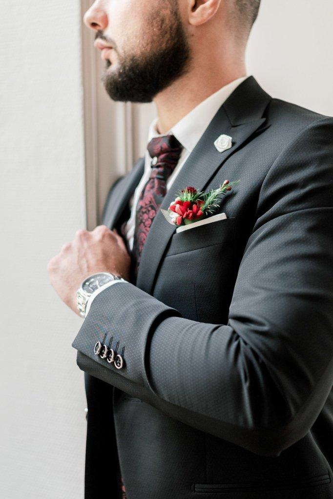 accessoire de mariage homme