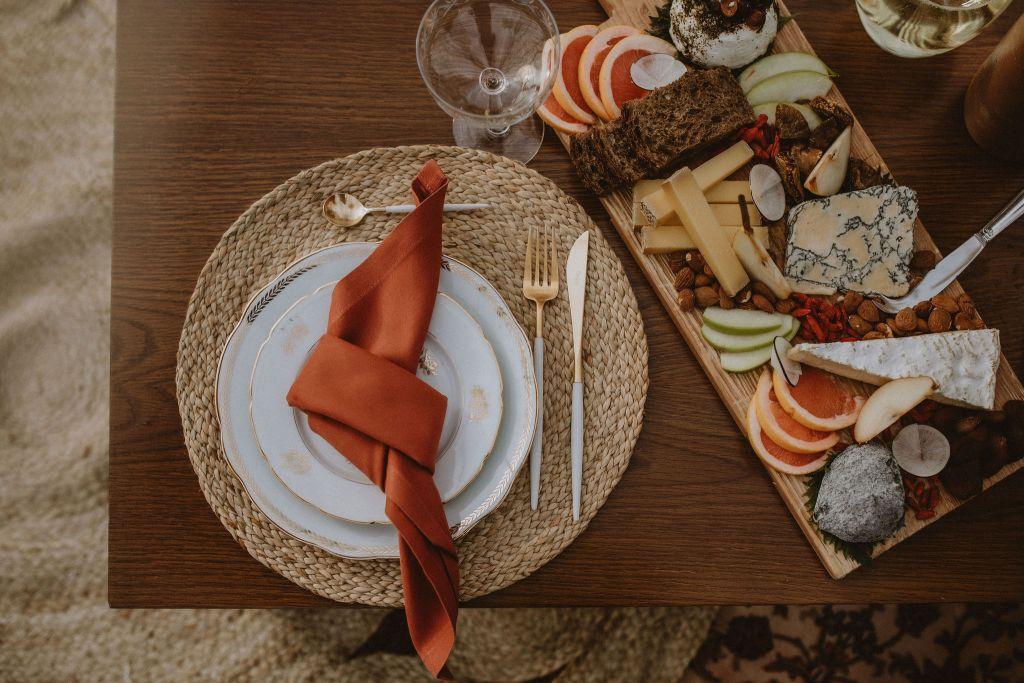 Décoration de table bohème folk