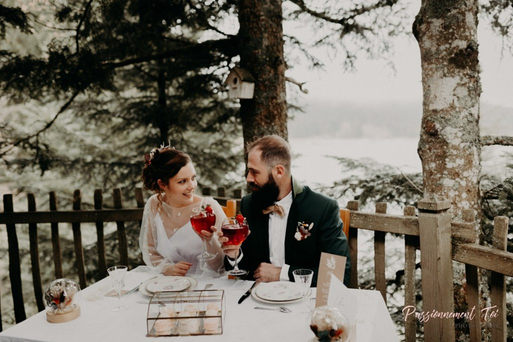Mariage intimiste à la montagne