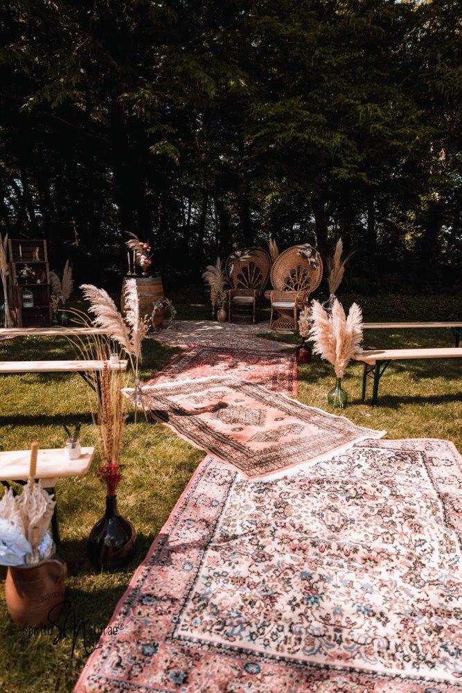 décoration cérémonie laïque