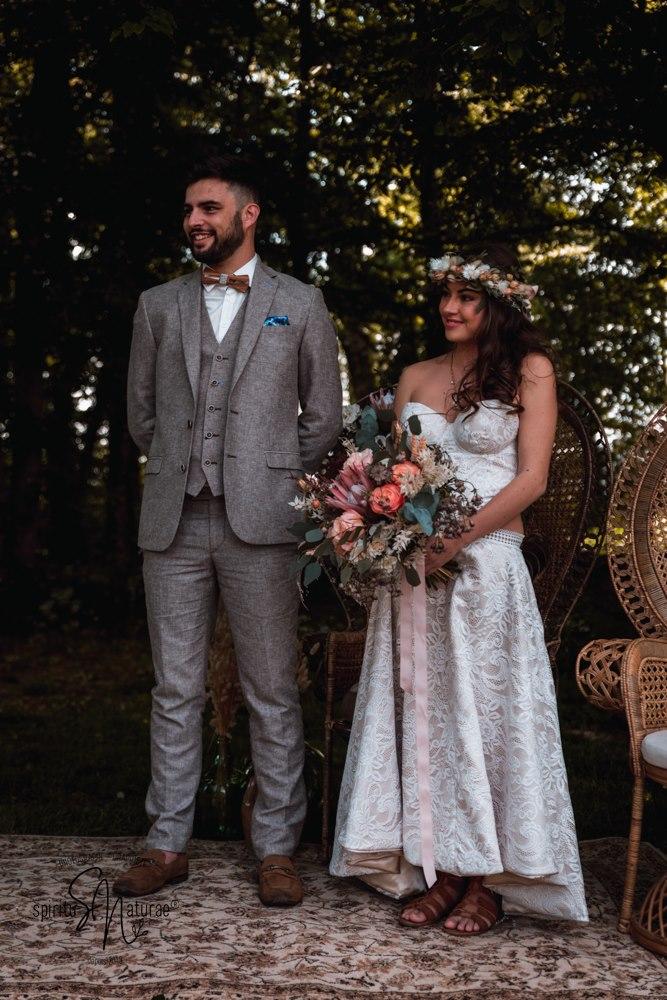 futurs mariés cérémonie laïque