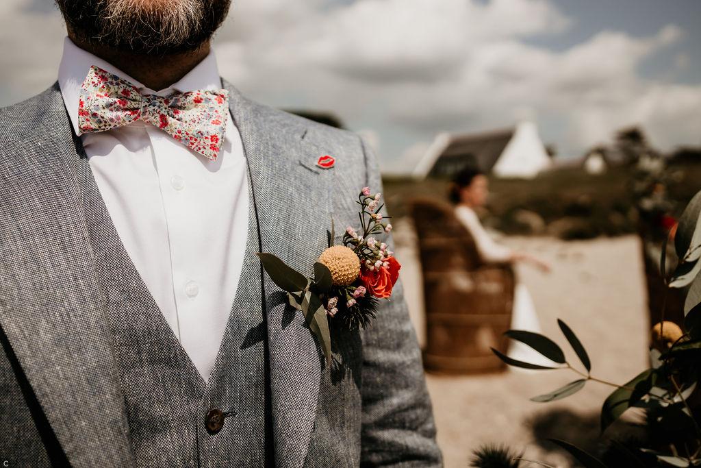 accessoires mariage hommes