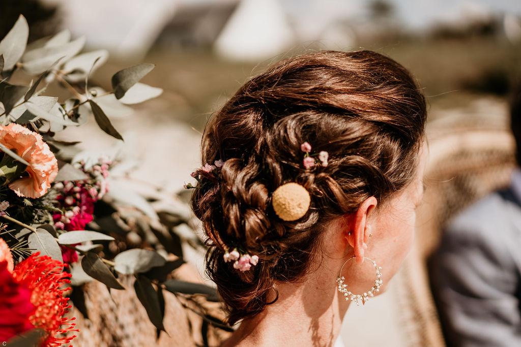 coiffure de mariage 2021