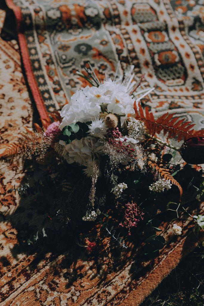 décoration fleurie cérémonie laique